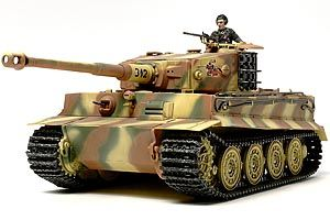 Tamiya 1/48 German Tiger I Late Production # 32575
