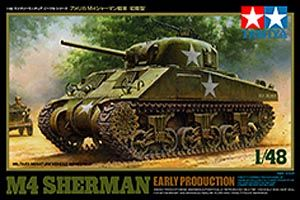 Tamiya 1/48 M4 Sherman Early Production # 32505