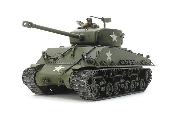 "Tamiya 1/48 M4A3E8 Sherman ""Easy Eight"" U.S. Medium Tank # 32595"