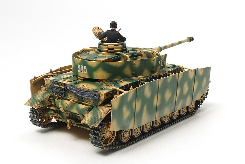 Tamiya 1/48 Panzerkampfwagen IV Ausf.H Late Production # 32584