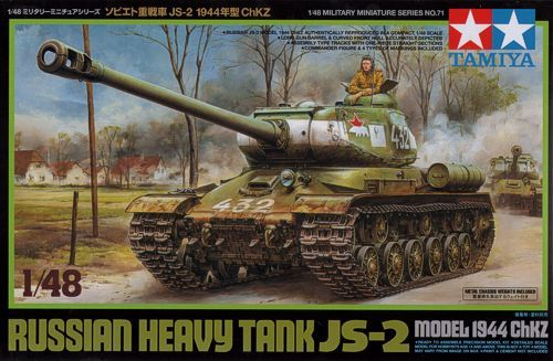 Tamiya 1/48 Russian Heavy Tank JS-2 Model 1944 ChKZ # 32571