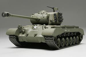 Tamiya 1/48 U.S. Medium Tank M26 Pershing (T26E3) # 32537