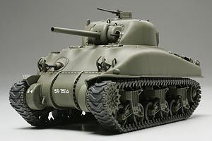 Tamiya 1/48 U.S. Medium Tank M4A1 Sherman # 32523