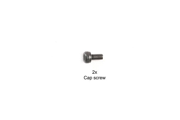 Tamiya 3x6mm Cap Screw 2Pcs # 9808013