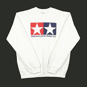 Tamiya - (L) Jumper Sweat Shirt (White) # 66858