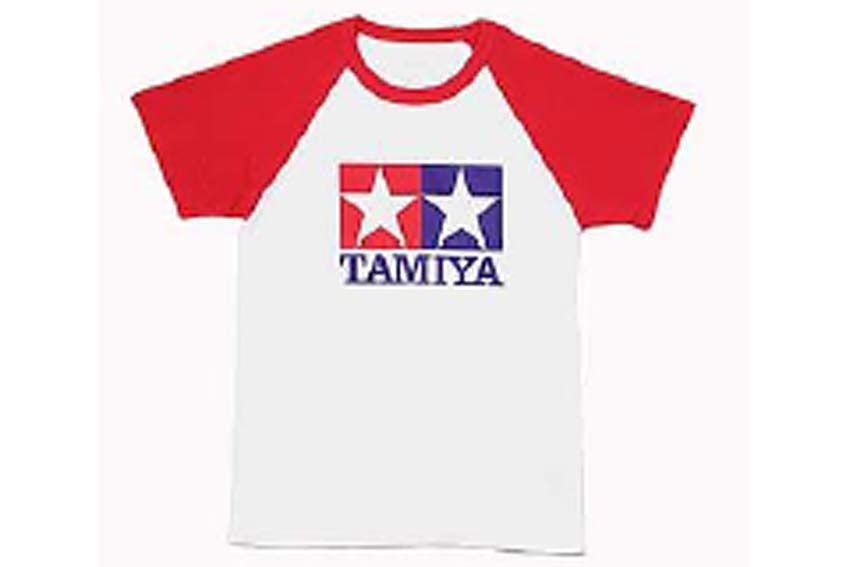 Tamiya - (L) T-Shirt with Short Sleeves (Red) # 66730