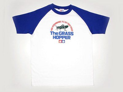 "Tamiya - (L) ""The Grasshopper"" T-Shirt with Short Sleeves # 66846"