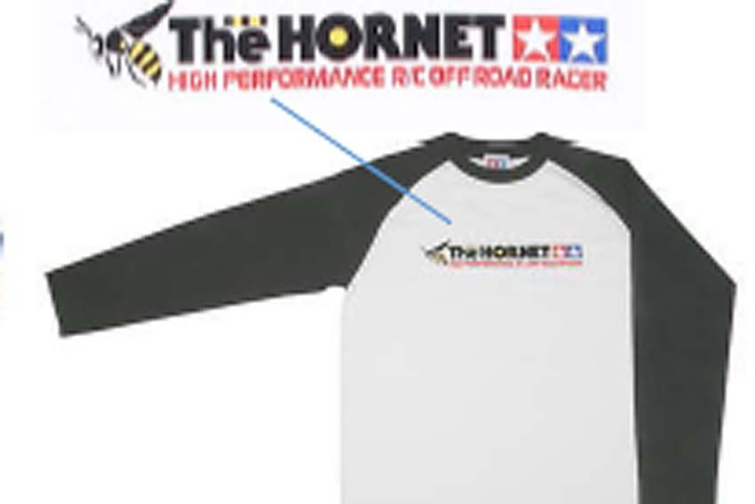 "Tamiya - (L) ""The Hornet"" T-Shirt with Long Sleeves # 66833"