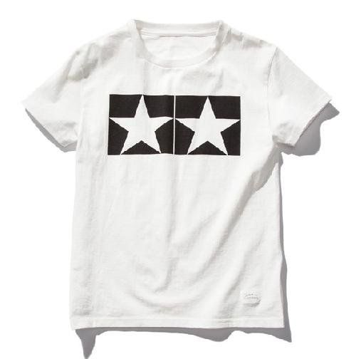 Tamiya - (L) Watanabe Tamiya T V2 T-Shirt with Short Sleeves (White) # 67061