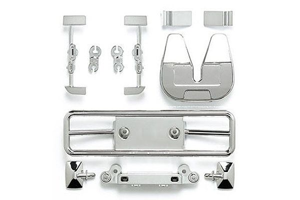 Tamiya - Racing Truck H Parts (Chrome) # 54828