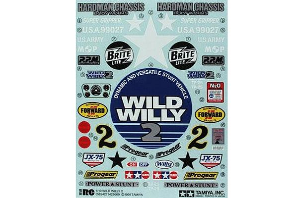 Tamiya - Sticker Bag for Wild Willy # 9495329