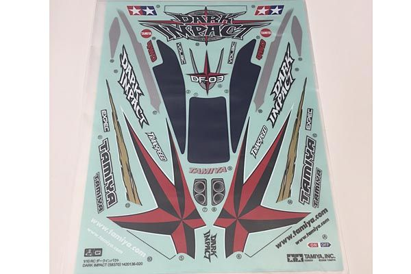 Tamiya - Sticker for Dark Impact # 9495487