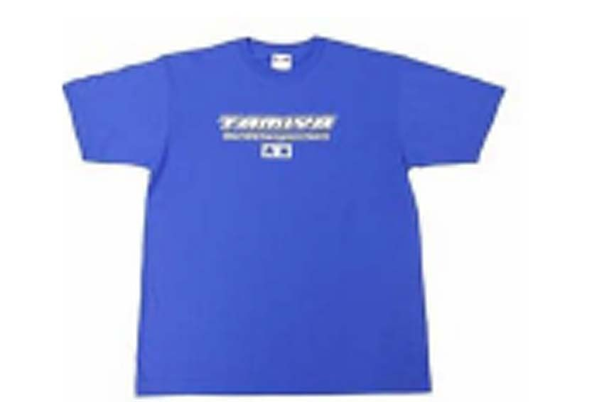 Tamiya - Team T-Shirt with Short Sleeves (Blue) # 66789