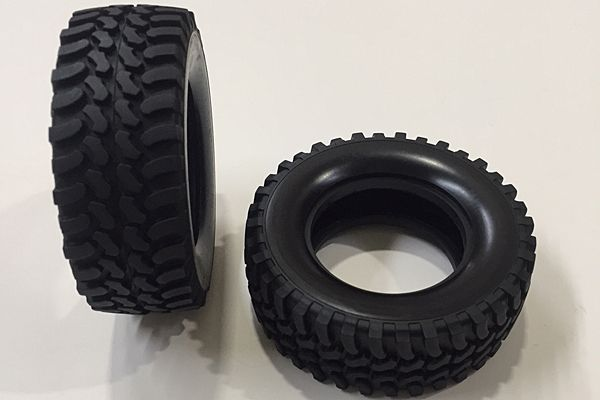 Tamiya - Tyre for CC-01 (2Pcs.) # 9805481
