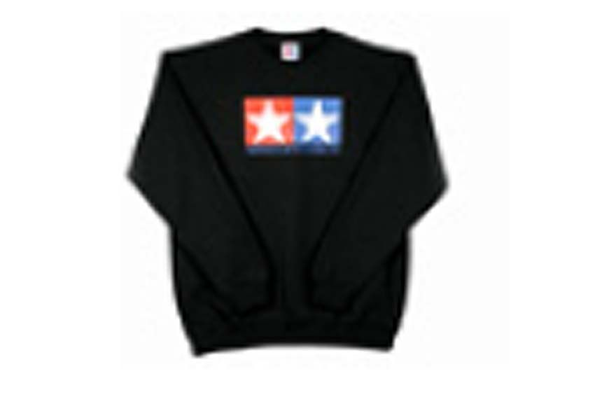Tamiya - (XL) Jumper Sweat Shirt (Black) # 66872