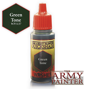 The Army Painter - 18ml Acrylic Green Tone Ink # 41137