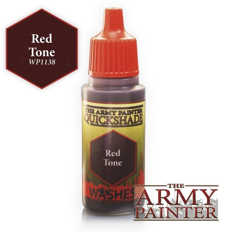 The Army Painter - 18ml Acrylic Red Tone Ink # 41138