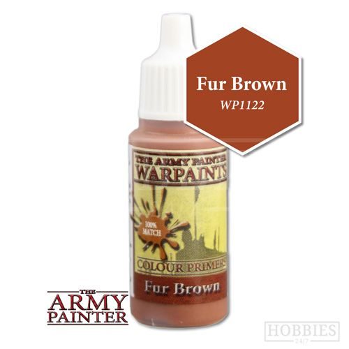 The Army Painter - 18ml Fur Brown Acrylic Paint # 41122