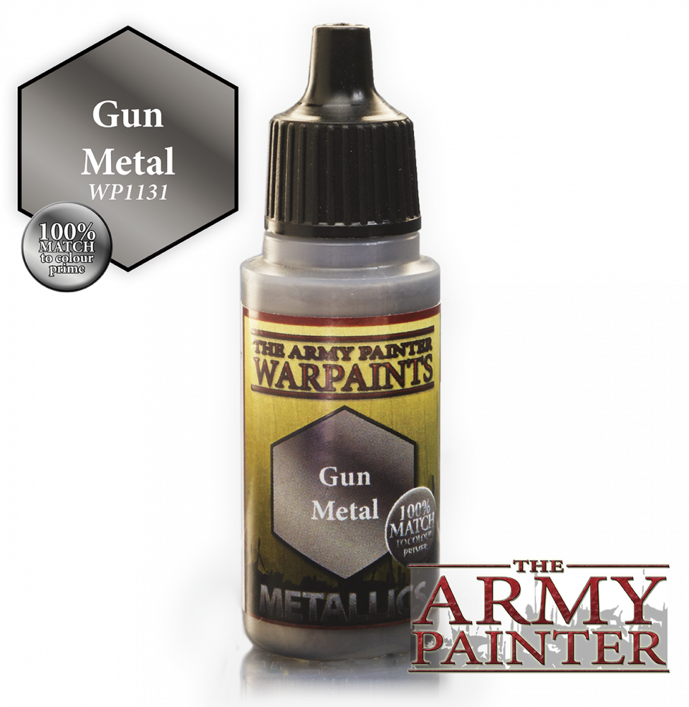 The Army Painter - 18ml Gun Metal Acrylic Paint # 41131