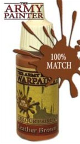 The Army Painter - 18ml Leather Brown Acrylic Paint # 41123