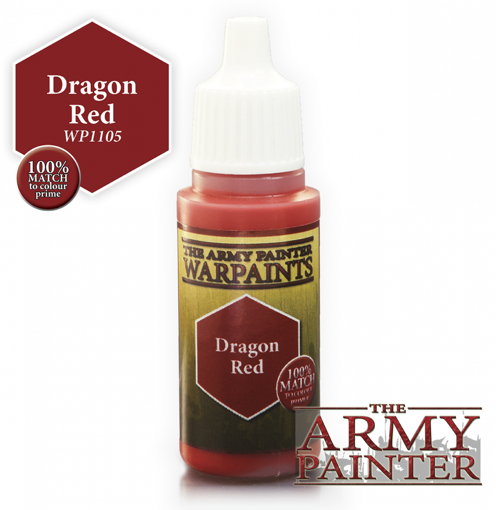 The Army Painter - Acrylic Dragon Red 18ml # 41105