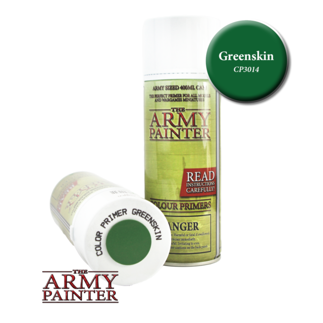 The Army Painter Colour Primer Green Skin 400ml Can