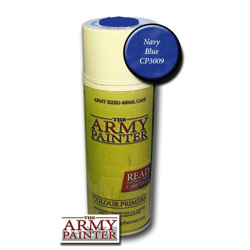 The Army Painter Colour Primer Navy Blue 400ml Can