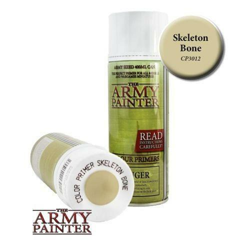 The Army Painter Colour Primer Skeleton Bone 400ml Can