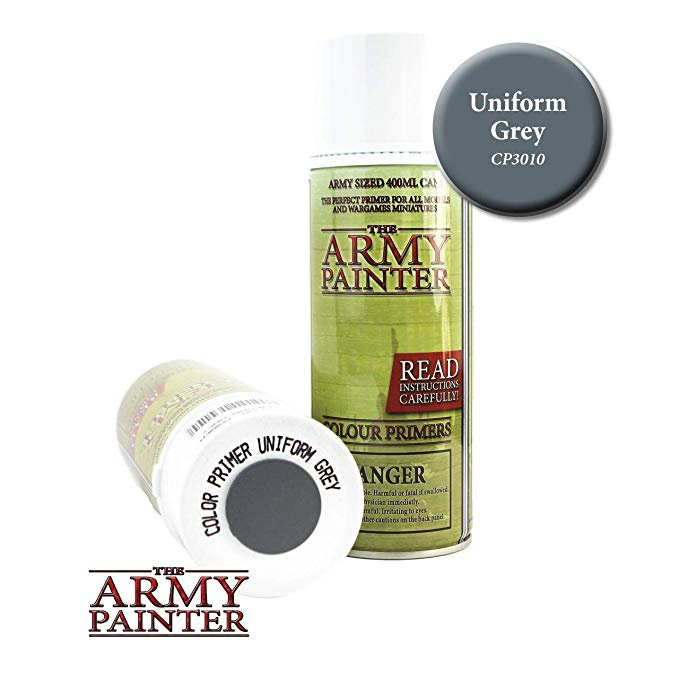 The Army Painter Colour Primer Uniform Grey 400ml Can
