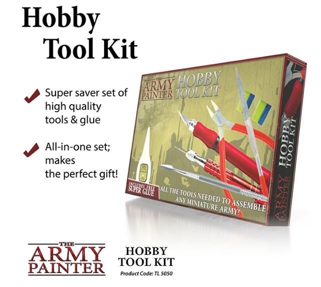 The Army Painter - Hobby Tool Kit # TL5050