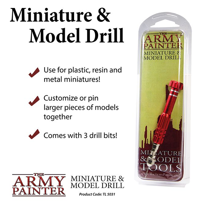 The Army Painter - Miniature & Model Drill # TL5031