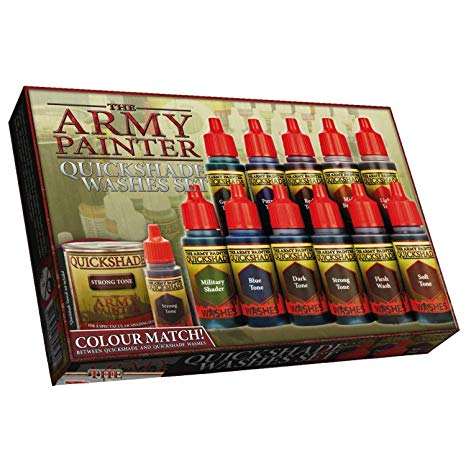 The Army Painter - Quickshade Washes Set # WP8023