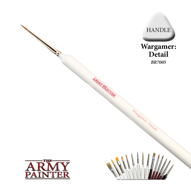 The Army Painter Wargamer Detail Brush # BR7005P