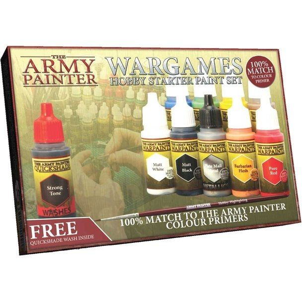 The Army Painter - Wargames Hobby Starter Paint Set # WP8003