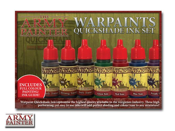 The Army Painter Warpaints - Quickshade Ink Set # WP8004