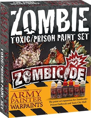 The Army Painter - Zombie Toxic/Prison Paint Set # WP8008