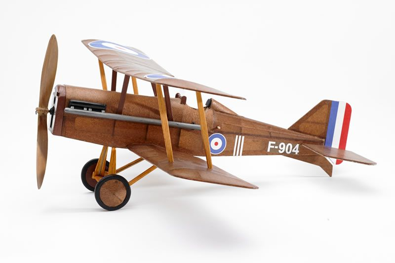 The Vintage Model - SE5A Rubber-Powered Balsa Kit