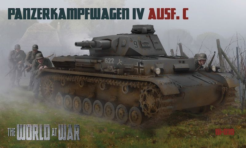 The World At War 1/72 Pz.Kpfw.IV Ausf.C # 010