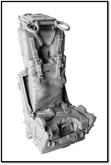True Details 1/48 MK H-7 Ejection Seat for McDonnell F-4C/D/E/F Phantom # P48902