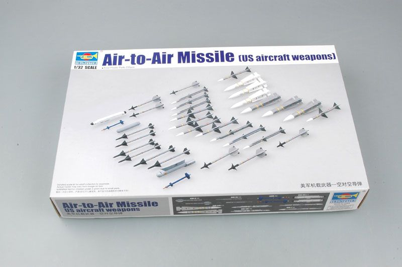 Trumpeter 1/32 Air-to-Air Missile (US Aircraft Weapons) # 03303