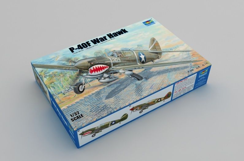 Trumpeter 1/32 Curtiss P-40F Warhawk # 03227