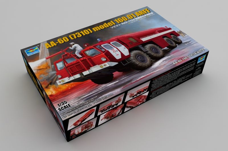 Trumpeter 1/35 AA-60 (7310) model 160.01 ARFF (Fire Engine) # 01074