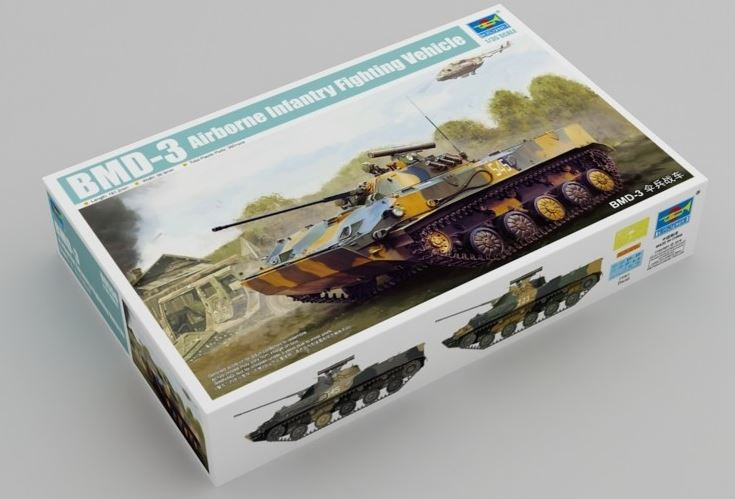 Trumpeter 1/35 BMD-3 Airborne Infantry Fighting Vehicle # 09556