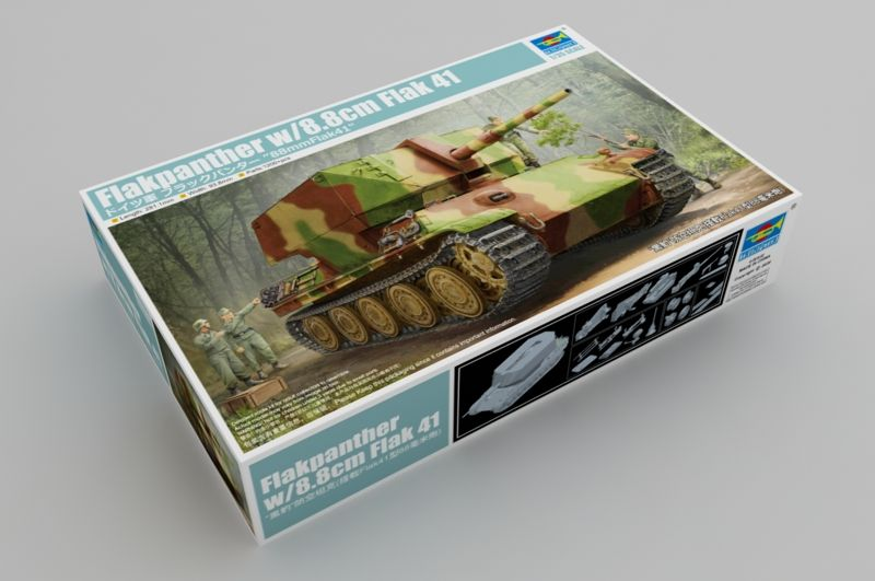 Trumpeter 1/35 Flakpanther with 8.8cm FlaK41 # 09530