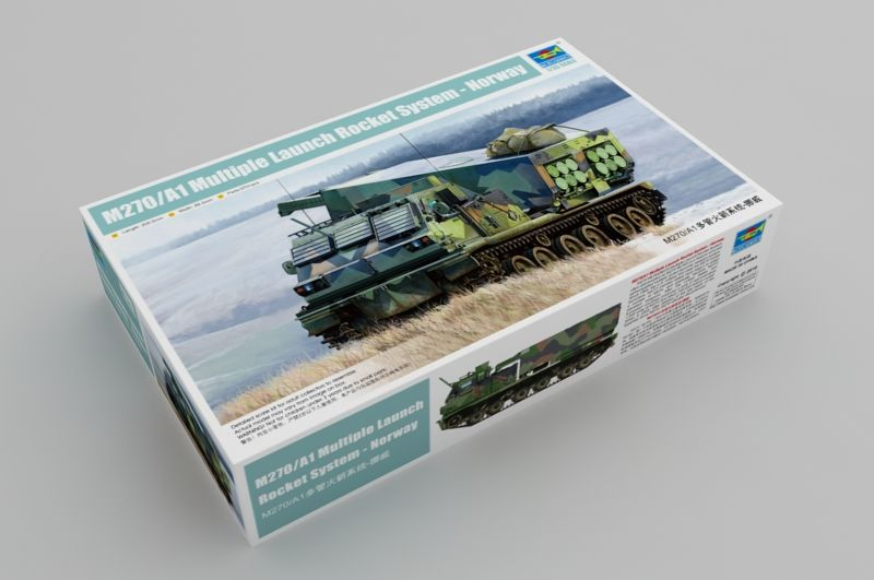 Trumpeter 1/35 M270/A1 Multiple Launch Rocket System - Norway # 01048