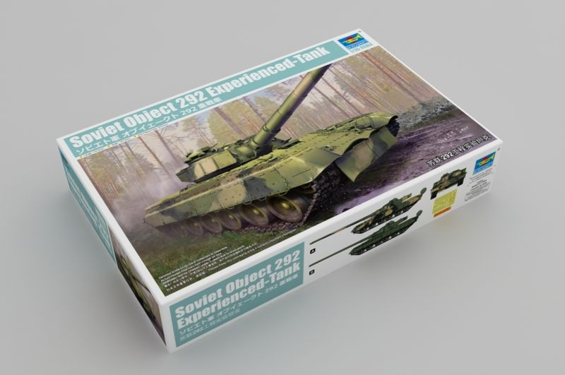 Trumpeter 1/35 Object 292 Soviet Experimental Tank # 09583