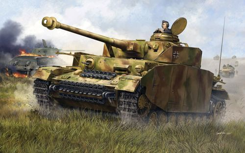 Trumpeter 1/35 Pz.Kpfw.IV Ausf.H German Medium Tank # 00920