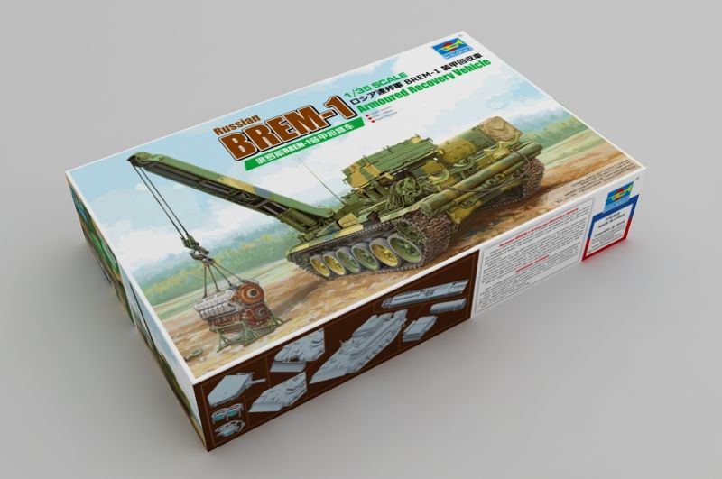 Trumpeter 1/35 Russian BREM-1 Armoured Recovery Vehicle # 09553