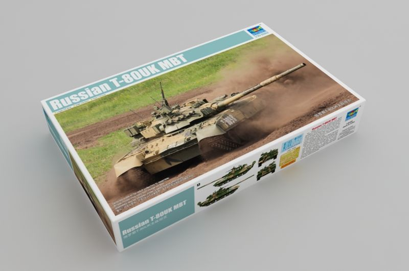 Trumpeter 1/35 Russian T-80UK MBT # 09578
