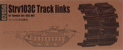 Trumpeter 1/35 Swedish Strv.103C Track Links # 02056